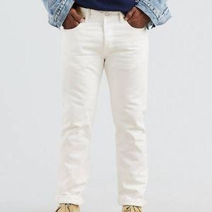 Vintage White Levi's 501